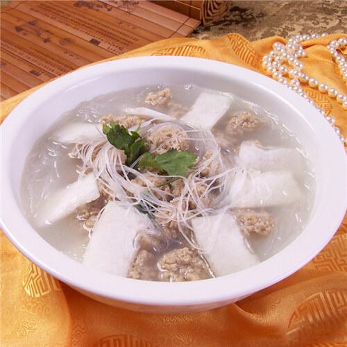 冬瓜烩羊肉丸
