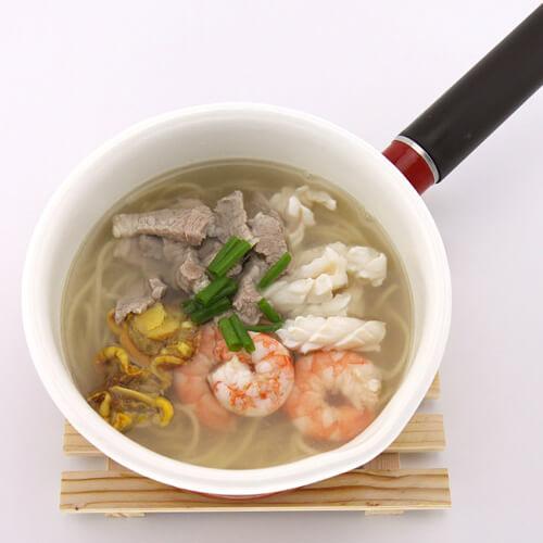 海鲜什锦汤