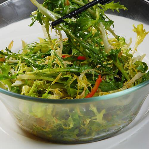虾米拌苦苣