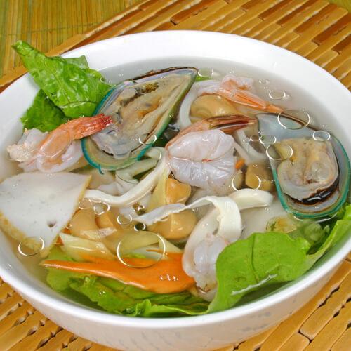五色海鲜汤