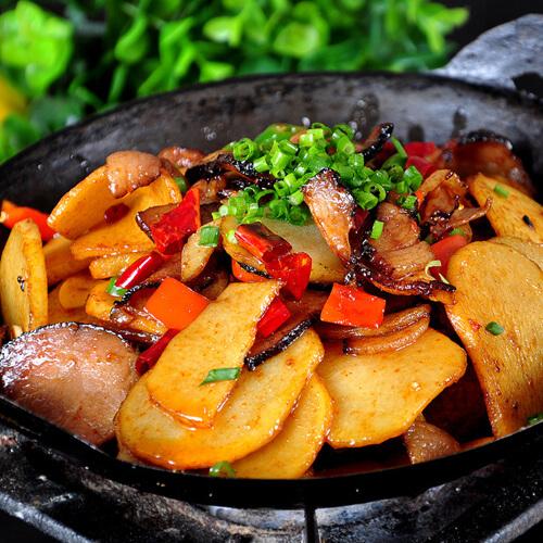 干锅牛肉土豆片