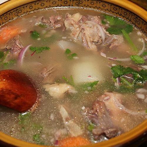 鹰嘴豆羊肉汤