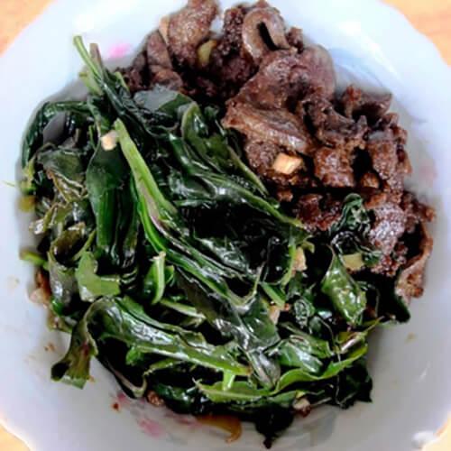 观音菜炒猪肝