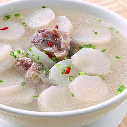 白萝卜炖鸭汤
