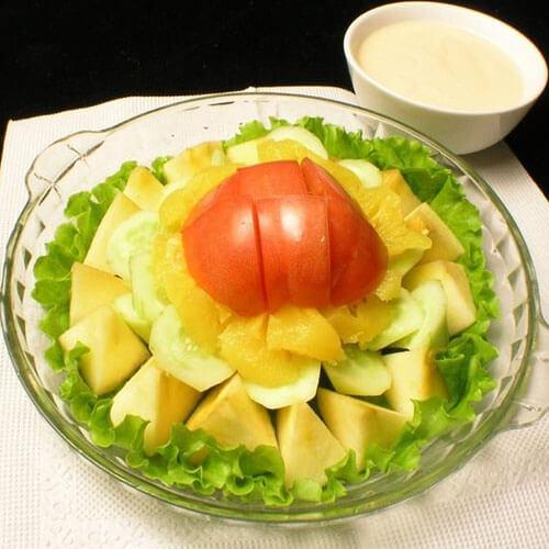 果蔬酸奶沙拉