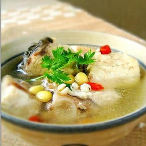 鮸鱼薏米汤