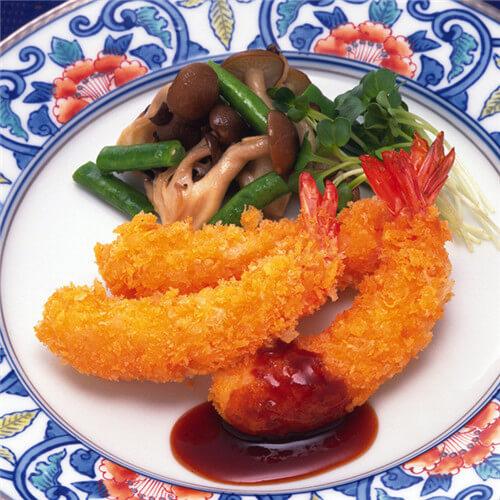 面包屑炸大虾