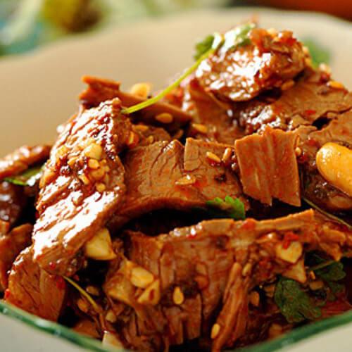 香辣萝卜丝炒酱牛肉