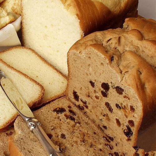 黑芝麻葡萄干面包