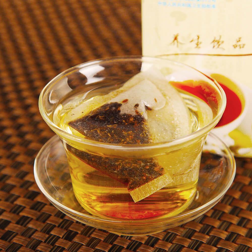黑枣灵芝茶