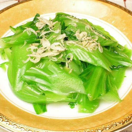 虾米炒盖菜