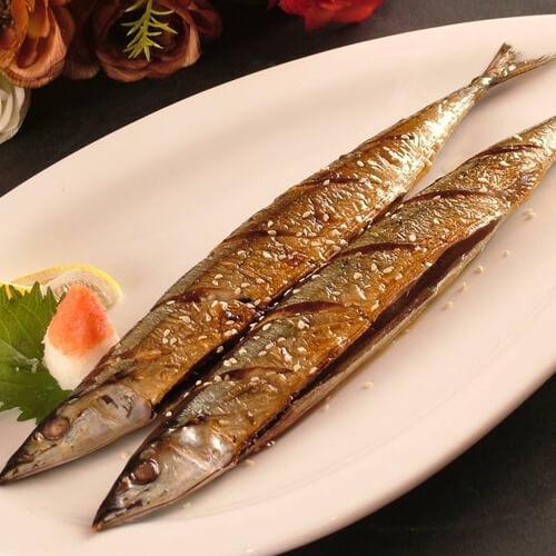 #特色菜#烤秋刀鱼