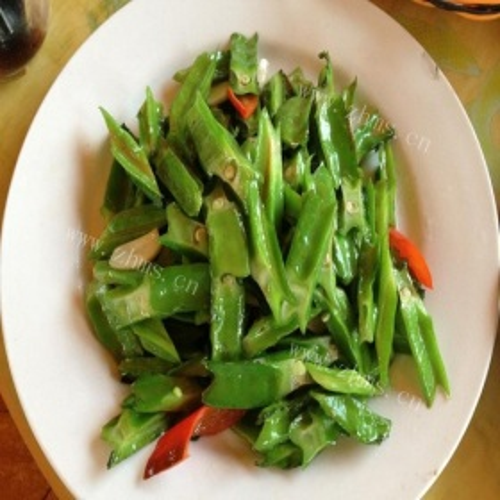 椒香四棱豆