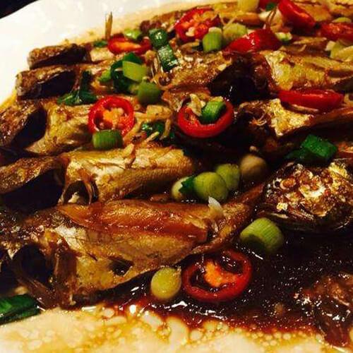 香煎梅童鱼