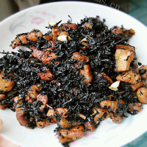 肉炒脆豆梅干菜
