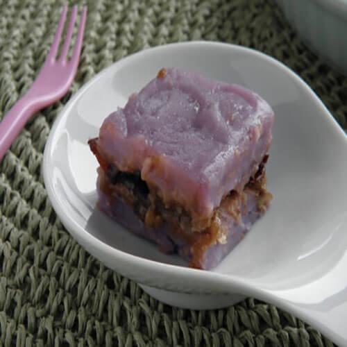 紫薯大枣年糕