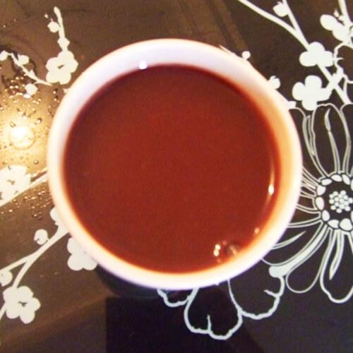 黑豆荞麦黑米浆