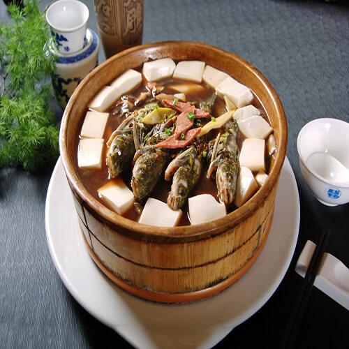 老板鱼炖豆腐