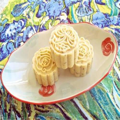 回忆之冰糖蜂蜜绿豆糕