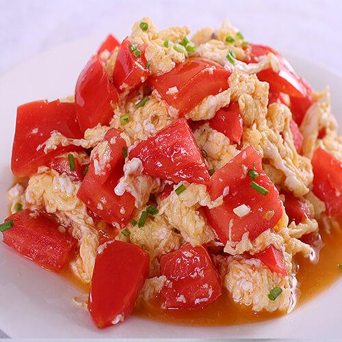 番茄豆腐鸭蛋