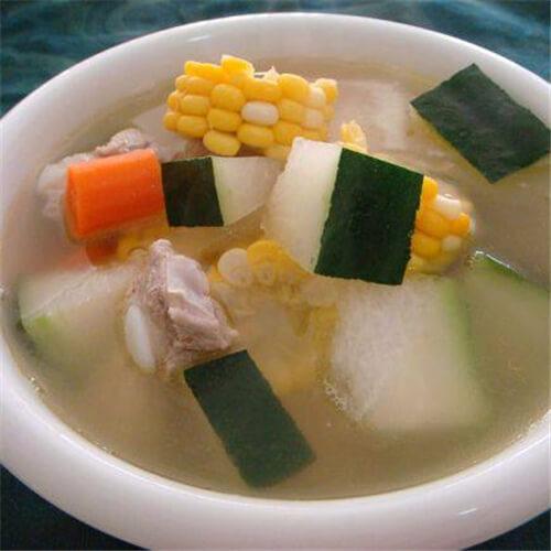 椰子排骨汤