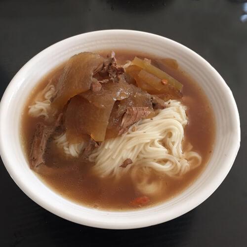 鸭架面条汤