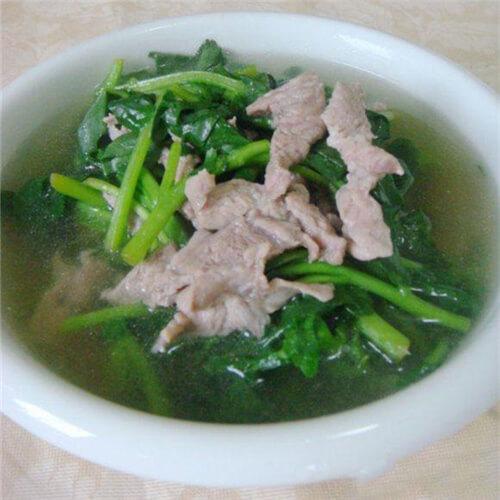 陈肾煲西洋菜汤