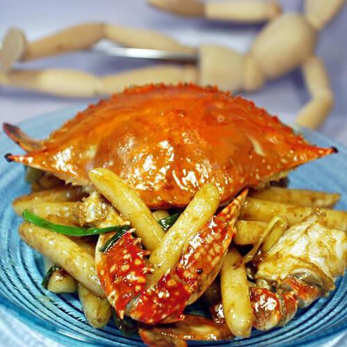 蟹黄炒年糕