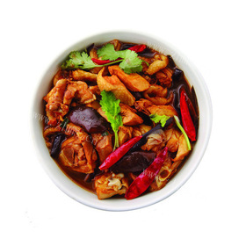 东北蘑菇炖烧鸡