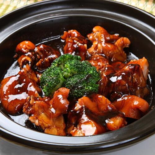 蚝豉发菜冬菇炆猪手