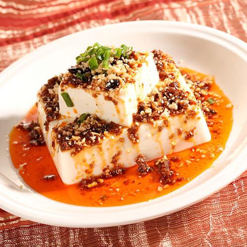 香辣酱拌豆腐