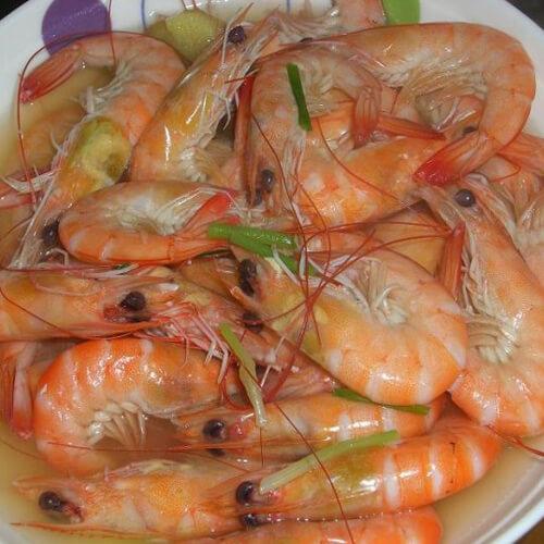 香汁水煮南极虾