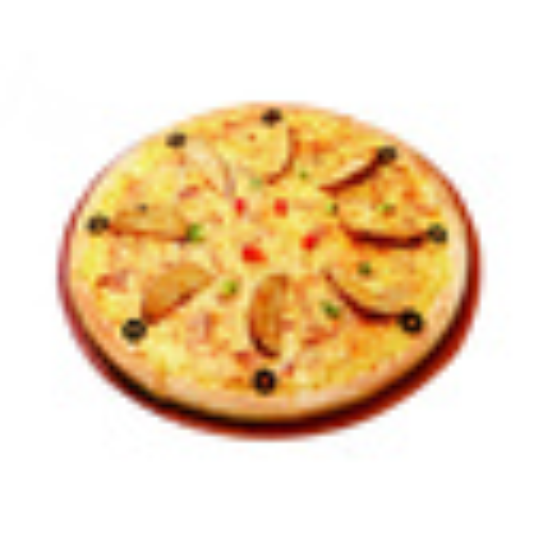 5分钟面包--pizza