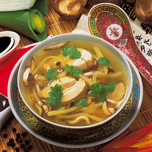 鸡汁平菇汤