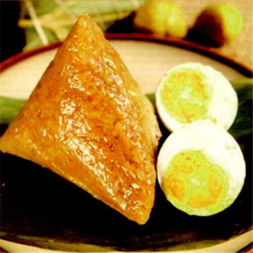 鸭蛋黄粽子