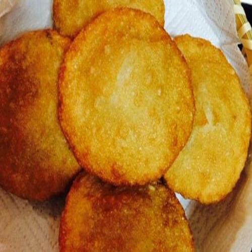 黄米面红糖油糕