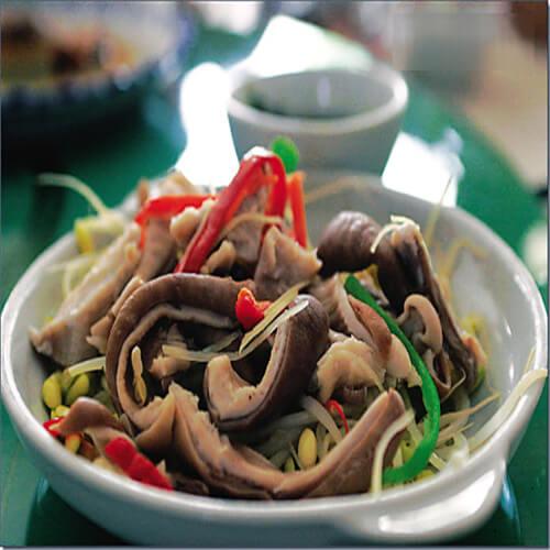 蛇瓜炒肉丝