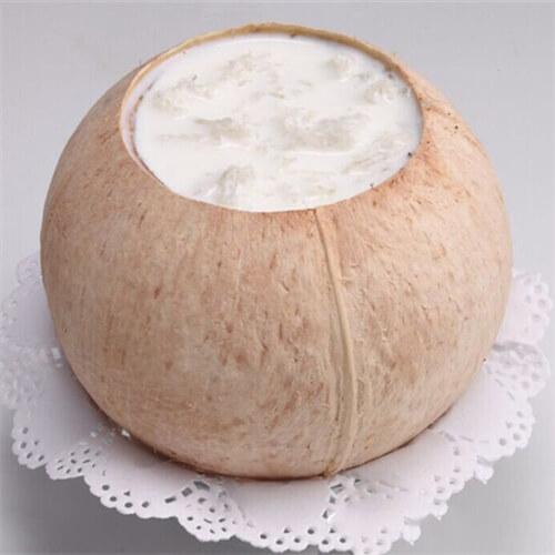 原只椰子炖雪蛤