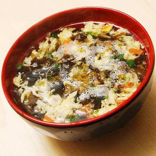 油条紫菜鸡蛋汤