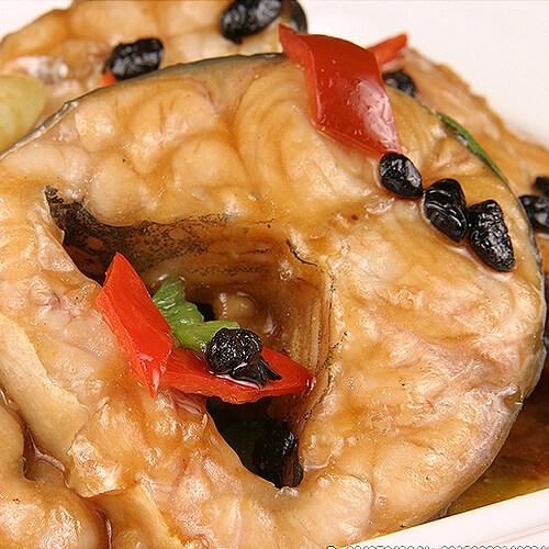 豉香蒸鮰鱼