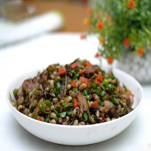 白豆酸菜炒肉