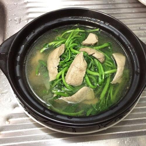 西洋菜猪肝汤