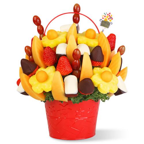 自制水果果束