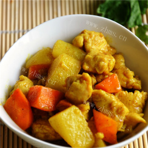 印尼咖喱土豆鸡