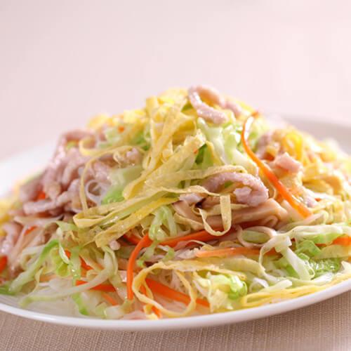 火腿青菜米粉