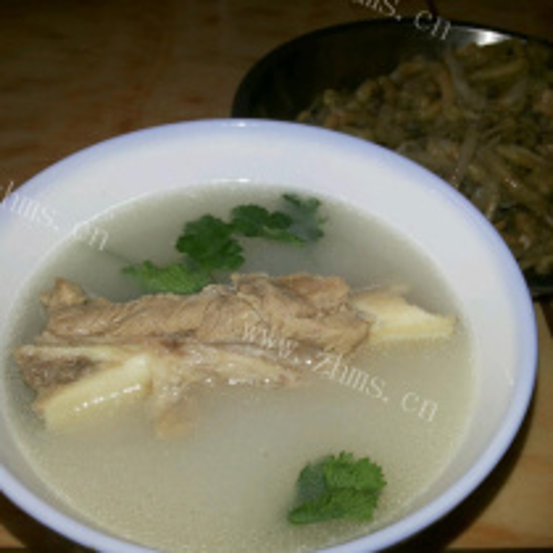 排骨煲鱼腥草汤