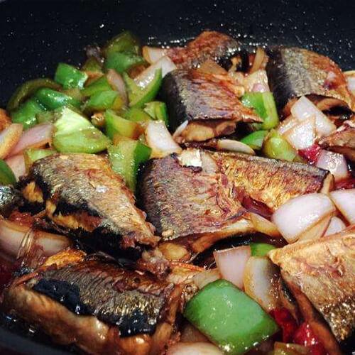 秋刀煮洋葱