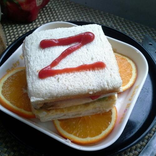 橙香三明治