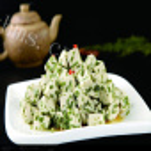 懒人版-香椿拌豆腐