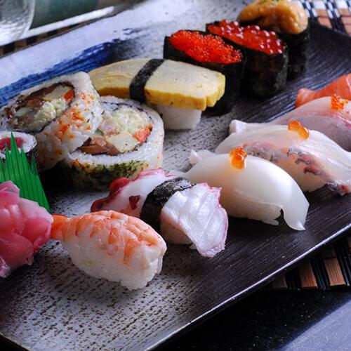 十分诱人的寿司